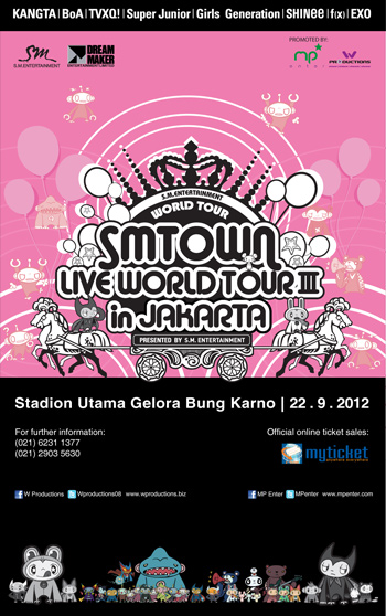 Pics Official Smtown Jakarta Logo Seating Plan Shinee World